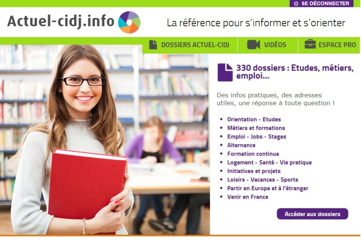 home page actuel web